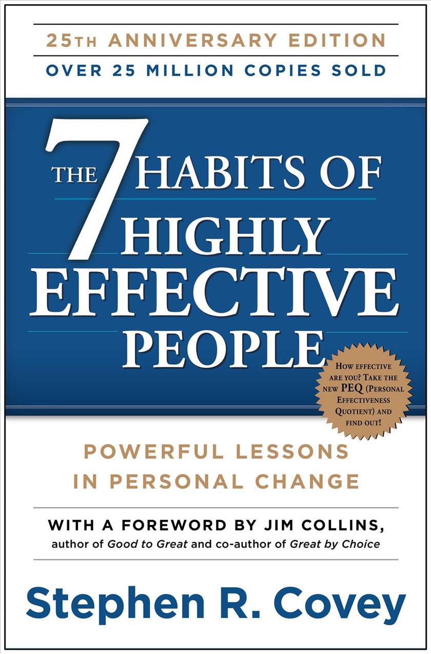 """Résultat de recherche d'images pour """"The 7 Habits of Highly Effective People cover"""""""